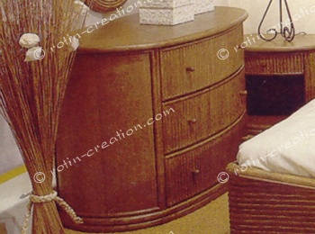 Commode BELLECOMBE 3 tiroirs